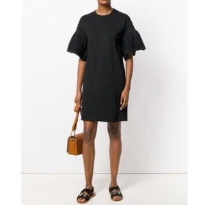 See by Chloé Ruffle Sleeve Dress M